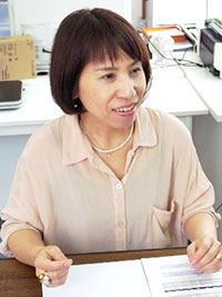 土谷千加子さん