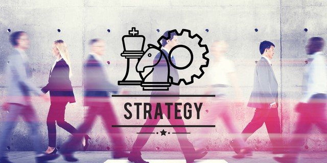 Strategy Tactics Planning Direction Goal Target Chess Concept