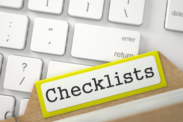 ガイドラインをチェックリストとみなして顧客満足度を高めよう