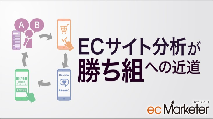 ECサイト分析が勝ち組への近道