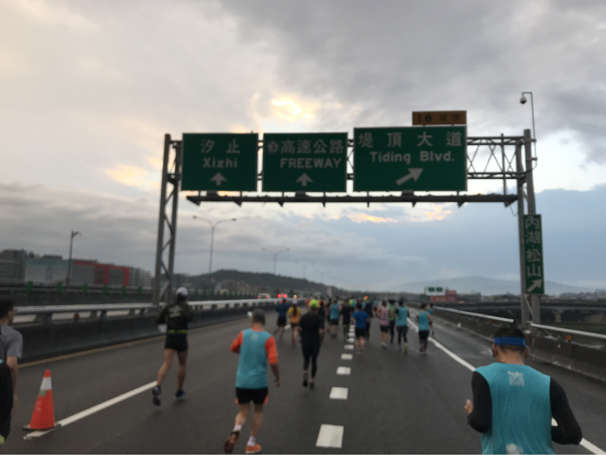 台湾のマラソン大会の様子②