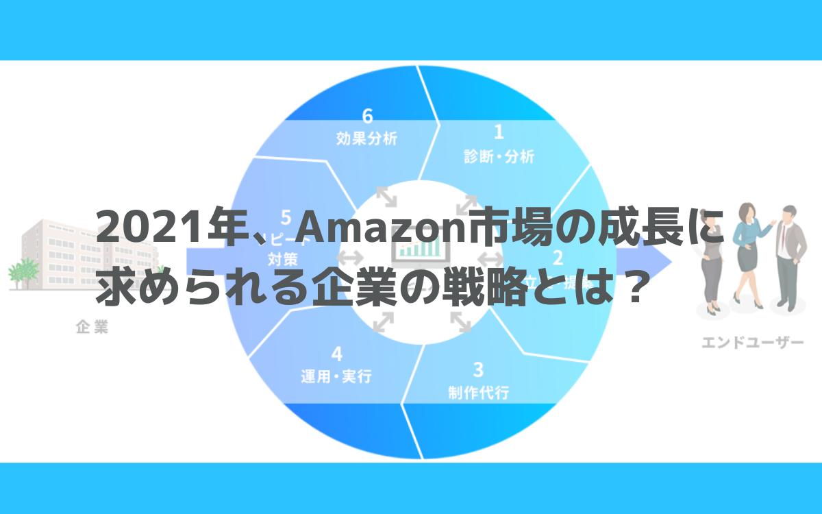 2021年、Amazon市場の成長に求められる企業の戦略とは?