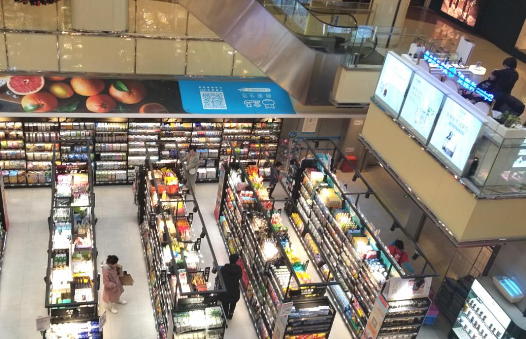 中国・フーマー店舗