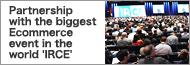 Partnership with the biggest Ecommerce event in the world IRCE