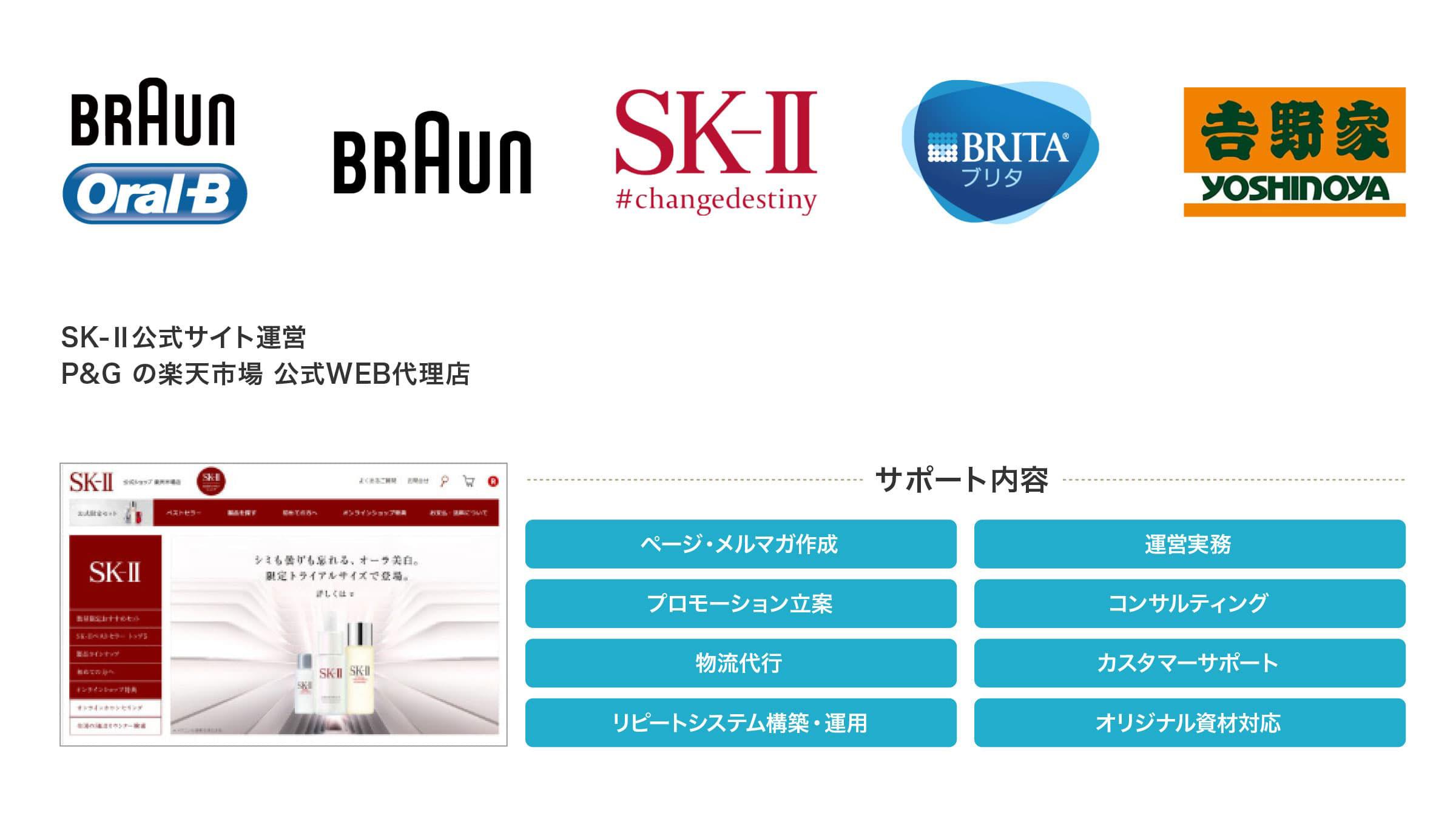 SK-Ⅱ公式サイト運営:P&G の楽天市場 公式WEB代理店