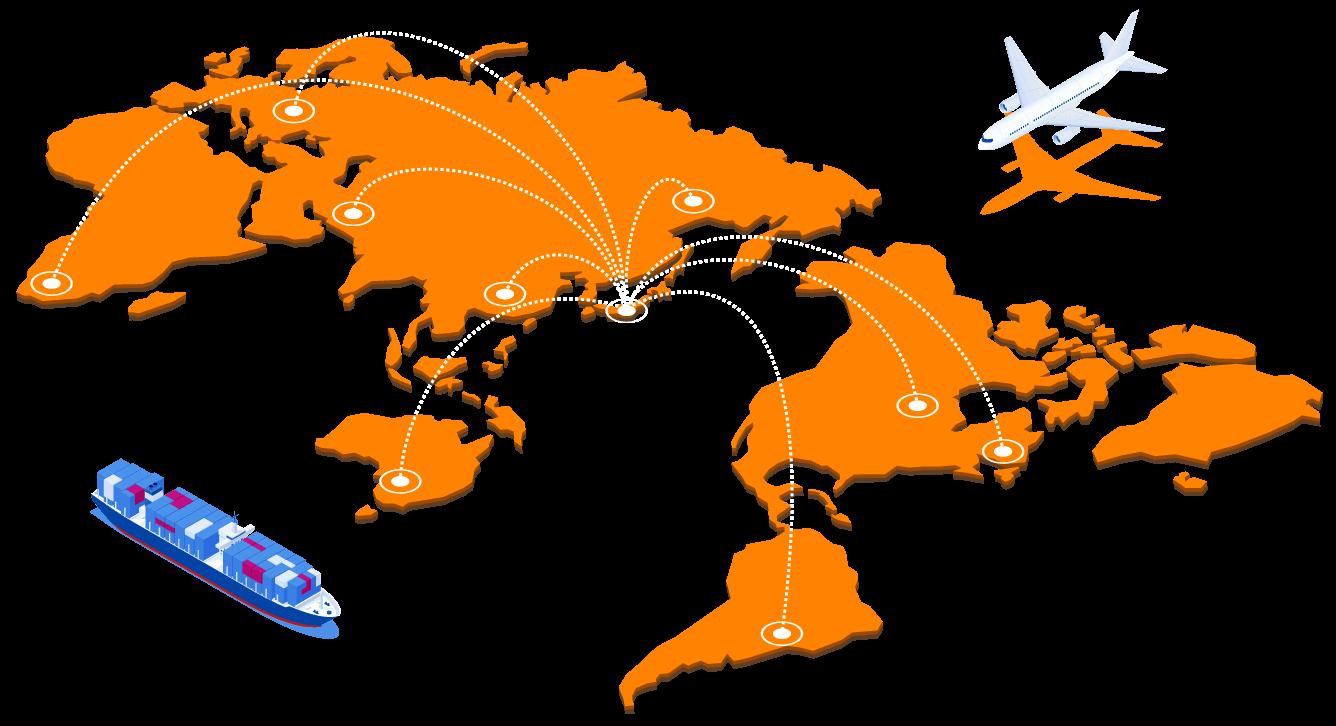 世界10か国での販売が可能