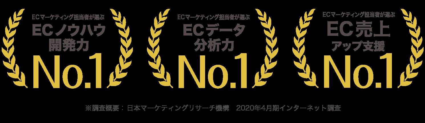マーケティング担当者が選ぶAmazonマーケティング支援No.1 EC・通販担当者が選ぶ楽天マーケティング支援No.1 経営者が選ぶブランドマーケティング支援No.1