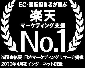 マーケティング担当者が選ぶ楽天マーケティング支援No.1
