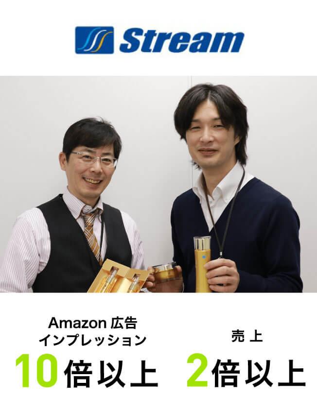 Amazon広告インプレッション10倍以上売上2倍以上