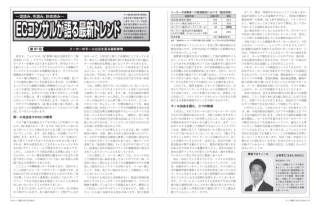 月刊ネット販売5月号